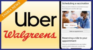 Uber and Walgreens Vaccination Program