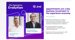 The Experience Evolution Episode 2: Appointments are a key business investment in the experience economy